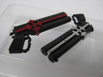 """deSMOnd Collection: Kaiyodo """"Gungrave"""" Beyond The Grave 8 ... Gungrave Cerberus Guns"""