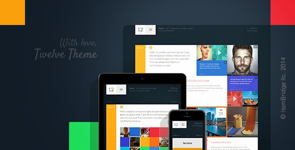 Twelve - Original & Creative WordPress Theme