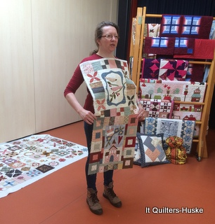 Workshop:'Quilt as you go'.