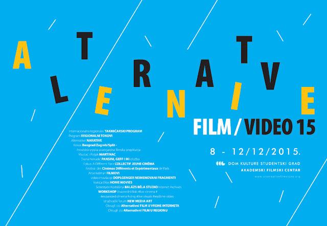 Alternative film/video 2015
