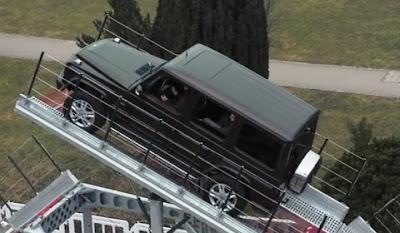 IRON-Schöckl at Mercedes-Benz G-Class Driving Experience