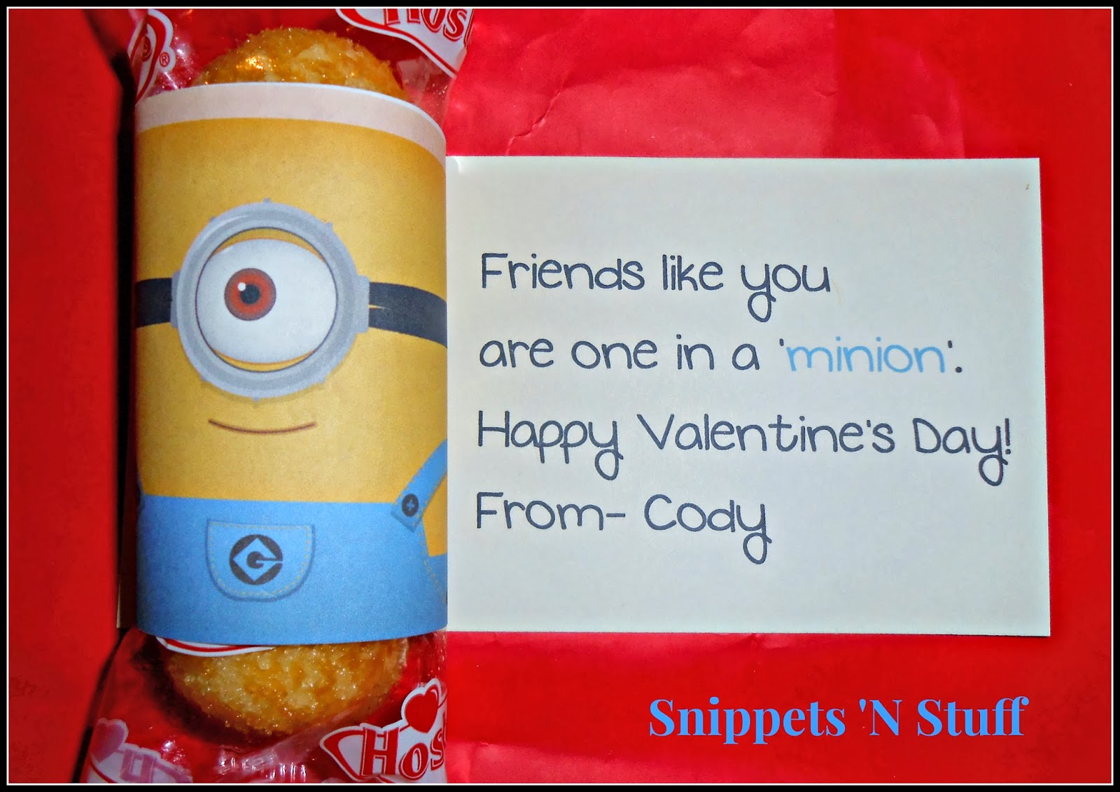 Thatu0027s Why I Decided To Make Minion Valentines For Him To Hand Out To His  Friends At The Day Program.