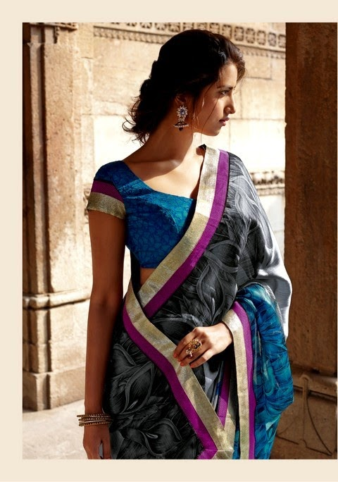 Laxmipati - Krishna Kali Saree Collection 2014