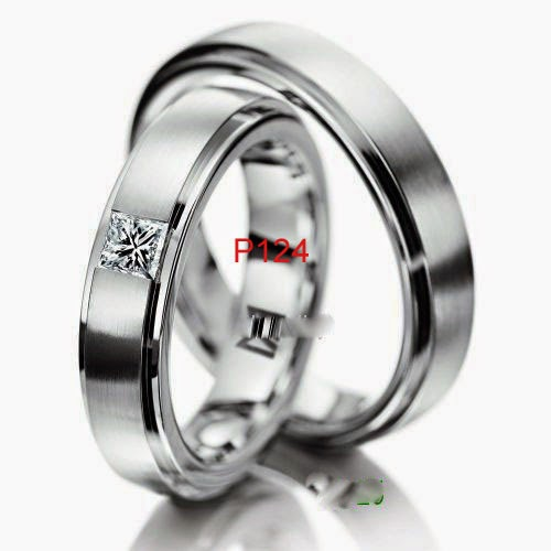 Contoh model cincin nikah lapis palladium rohdium