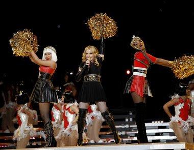 Madonna fue la reina del espectáculo de medio tiempo del Super Bowl