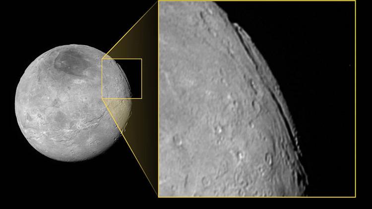 La mayor 'grieta' del sistema solar