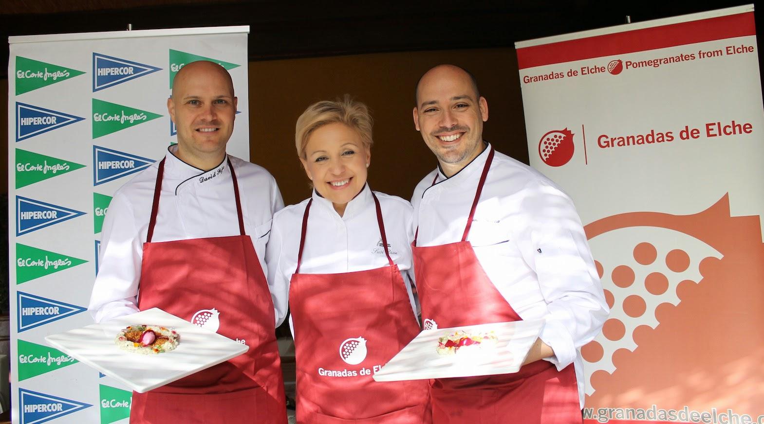 Ganadores Concurso Cocina Creativa Granada Mollar de Elche
