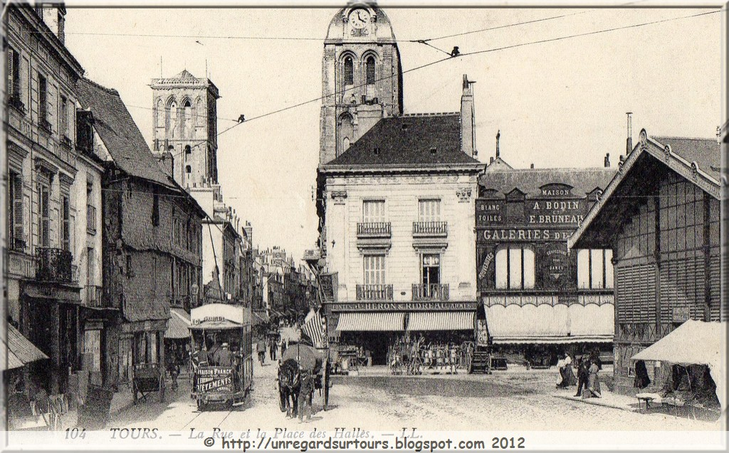 Tours et ailleurs: La Tour Charlemagne en cartes postales