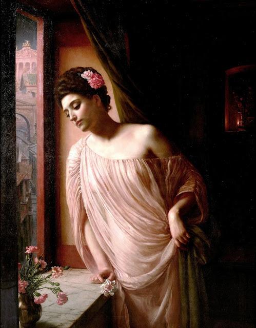 Diadumenè,Edward Poynter,greek painting