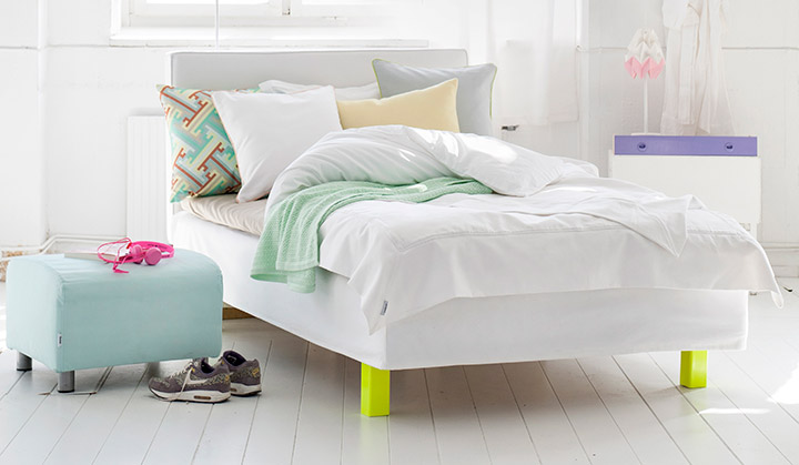 Nordic pastel and refreshing neon touch