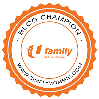 NTUC U Family Blog Champion