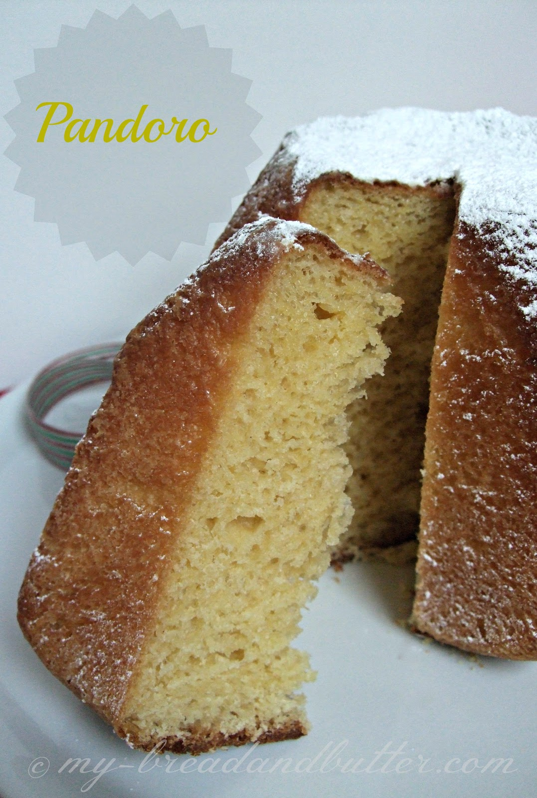 Bread and Butter....: Traditional Italian Christmas Cake ...