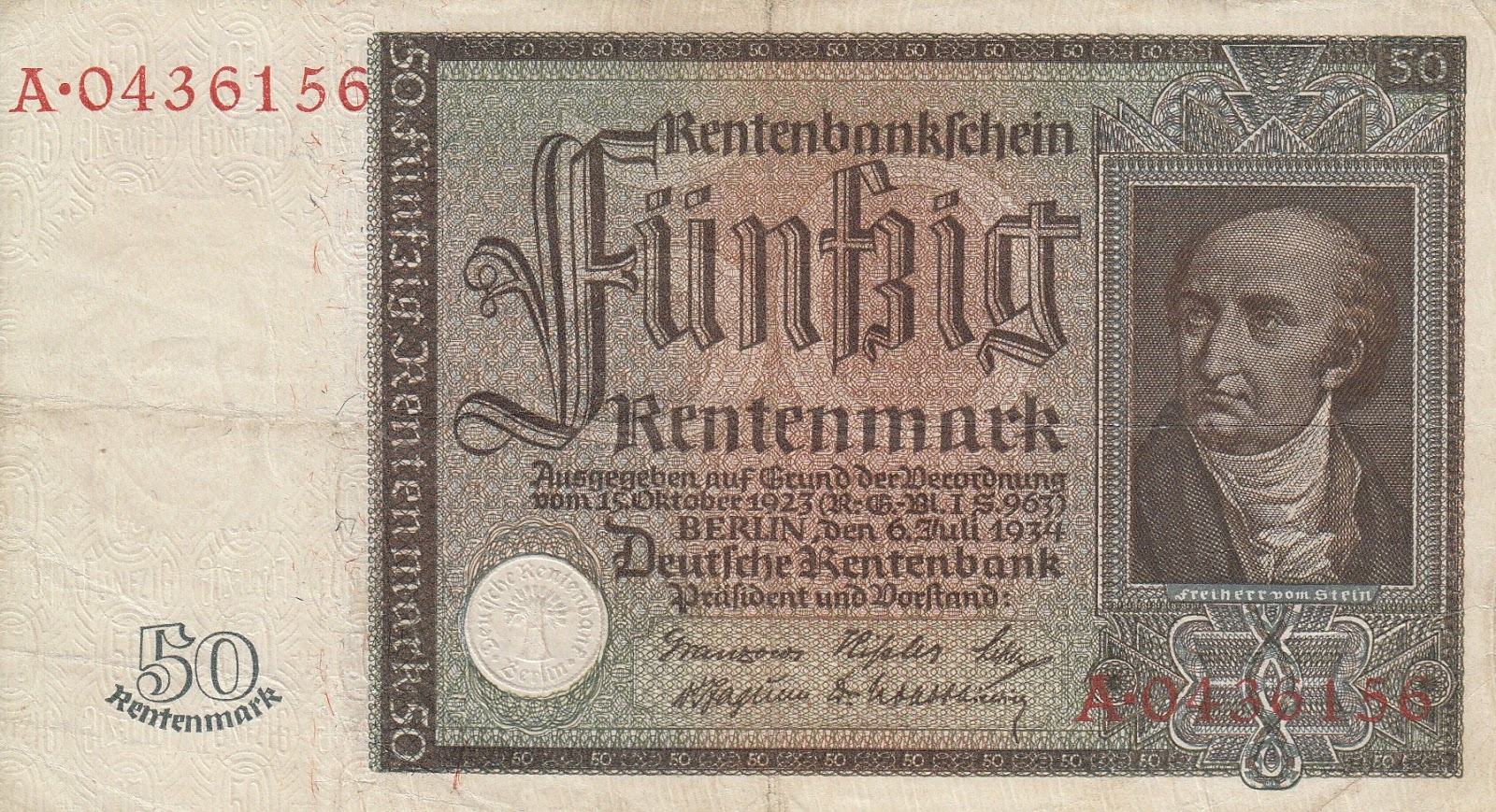 the introduction of a new currency 1923 rentenmark On 15 november 1923, a new currency, the rentenmark, was introduced at   participated in the introduction of the rentenmark, a new currency the value of.