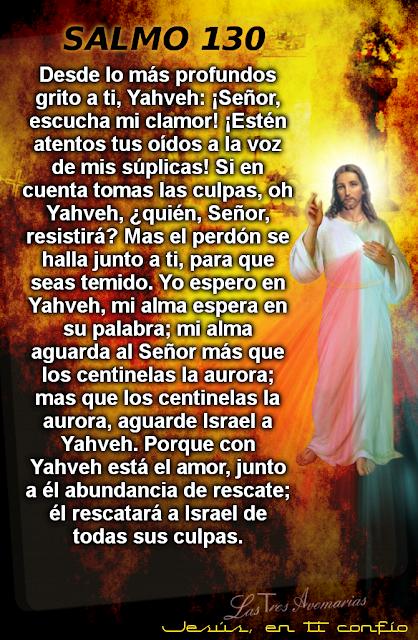salmo 130 de la biblia