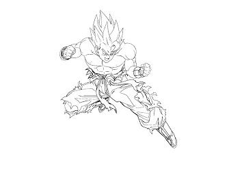 #8 Dragon Ball Coloring Page