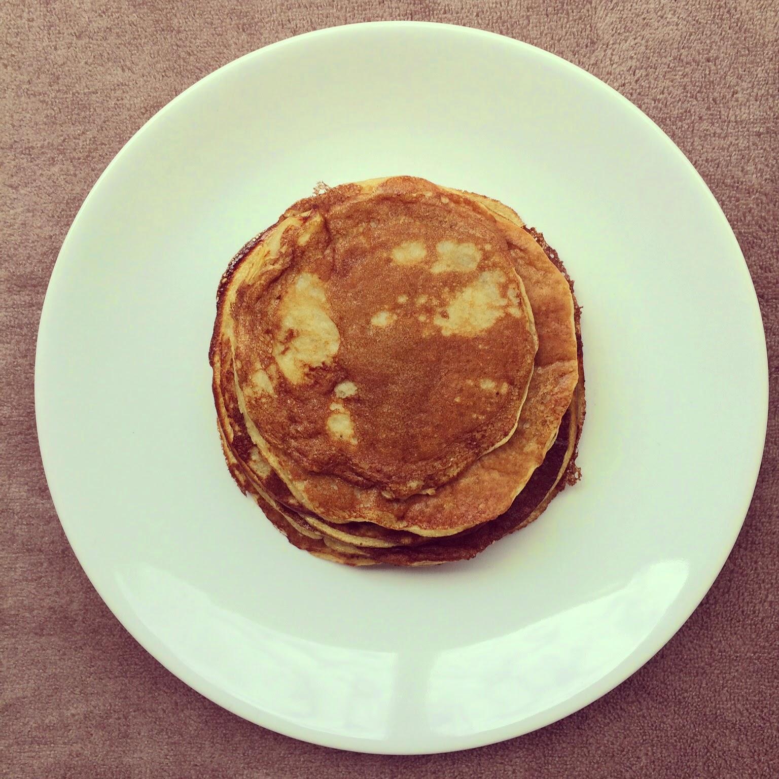 pancakes sans farine banane oeufs