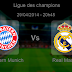 Pronostic Bayern Munich  - Real Madrid : Ligue des Champions