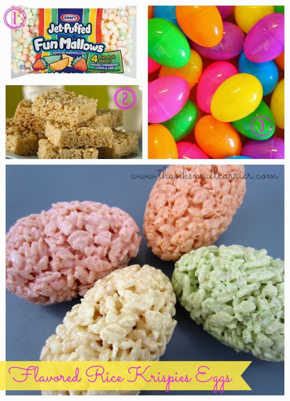 Flavored Rice Krispie Eggs