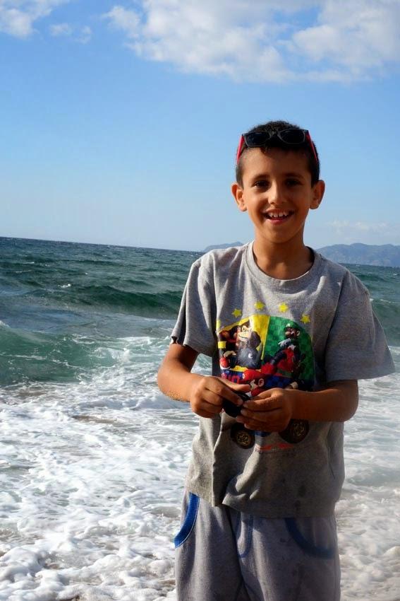 Péche sur la plage