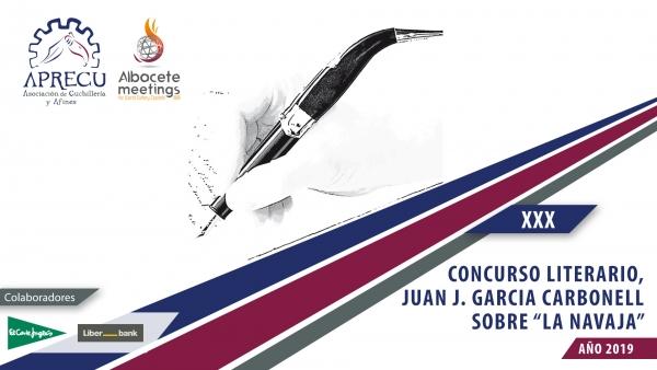 XXX Premio JUAN J GARCÍA CARBONELL