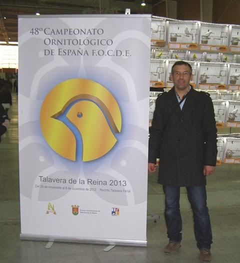 Visita ao 48º campeonato Ornitológico de Espanha F.O.C.D.E.