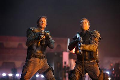 Jason Clarke and Jai Courtney in Terminator Genisys