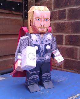The Avengers, Thor Papercraft