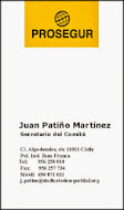 Contacta con Juan Patiño Secretario del Comité de Empresa en Prosegur España S.L. Cádiz