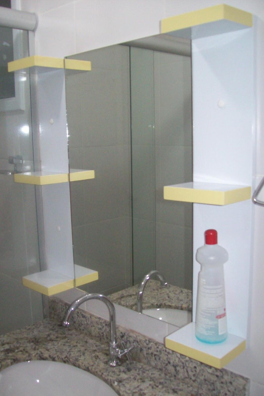 BETESDA MARCENARIA : ARMARIO DE BANHEIRO E ESPELHO COM MINI  #8A7F41 1067x1600 Banheiro Armario Com Espelho