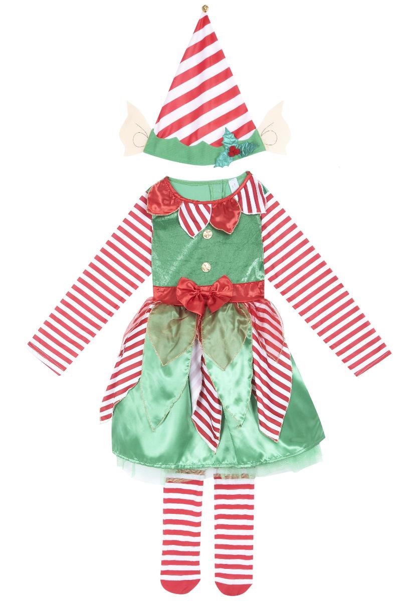 mamasVIB | V. I. BUYS: Santa's Little Helpers… cute Christmas Elf outfits for kids, Christmas fancy dress | christmas elf outfit | sainsburys | V.I.BABY | mamasVIB | Christmas