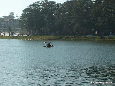 Dalat city - Xuan Huong lake