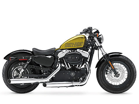 2013 Harley-Davidson XL1200X Forty-Eight 48 gambar motor -