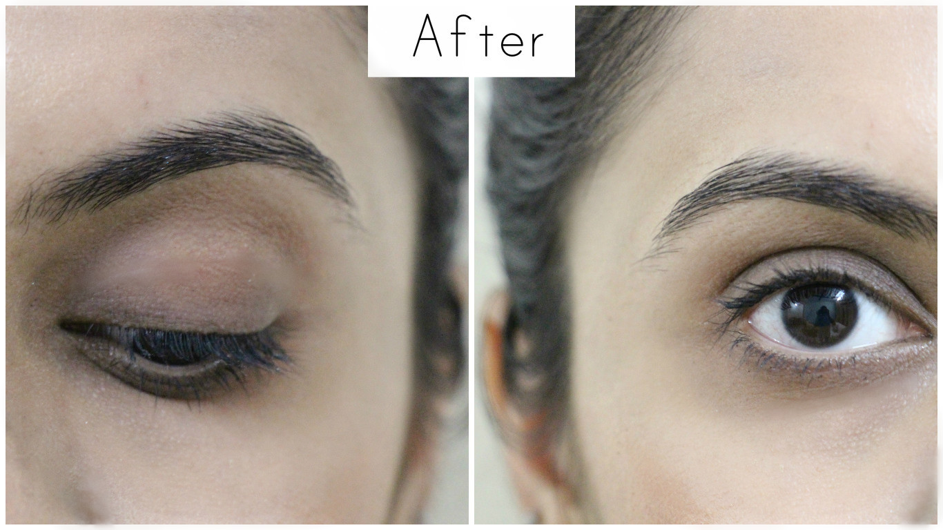how to clean eye makeup
