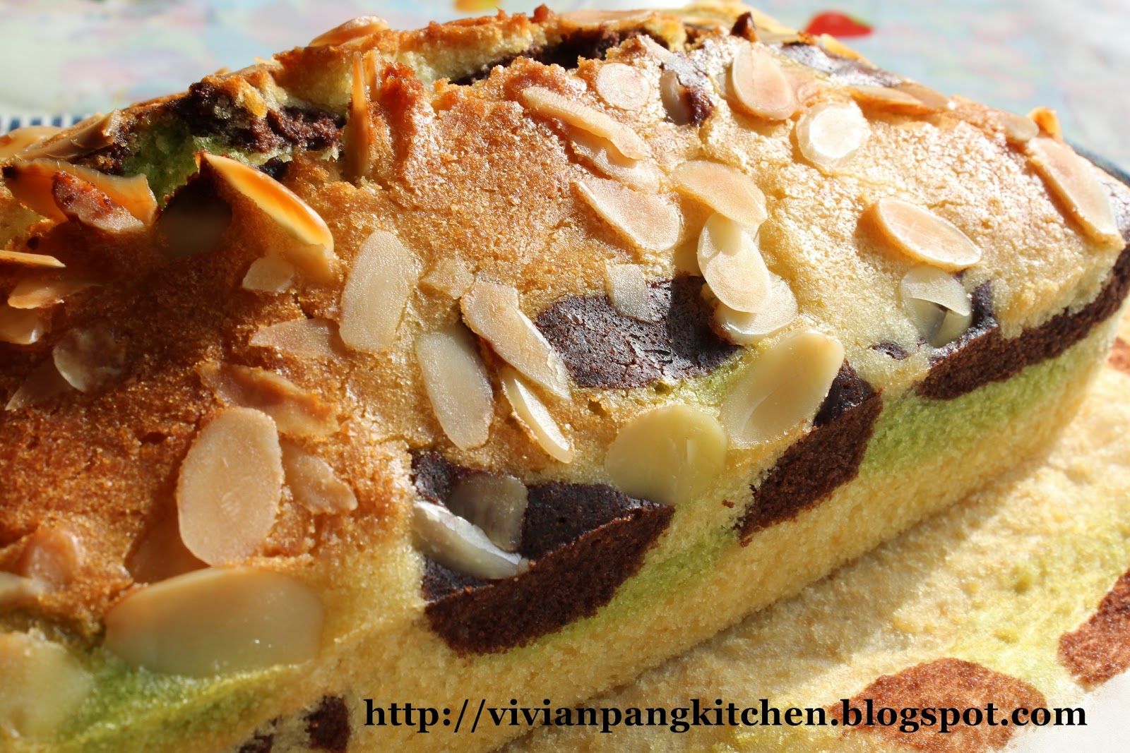 Vivian Pang Kitchen Trio Flavours And Colours Butter Cake/ Steam Bake