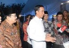 Jokowi Kontrol Pembangunan Bendungan dan Tol