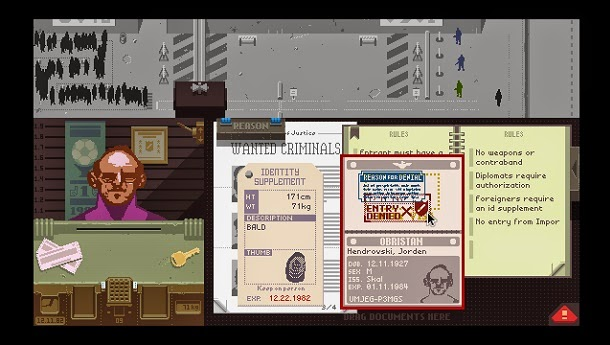 Conheça Papers, Please, o game onde o usuário é fiscal de imigração