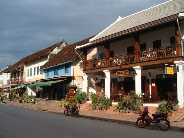 Luang Prabang motorcycling