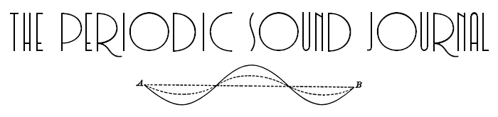 The Periodic Sound Journal