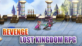 Screenshots of the Revenge: Lost kingdom RPG for Android tablet, phone.