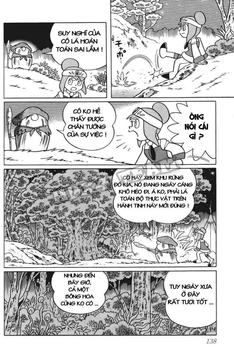 Truyện tranh Doraemon Dài Tập 25 - Nobita và truyền thuyết thần rừng trang 158