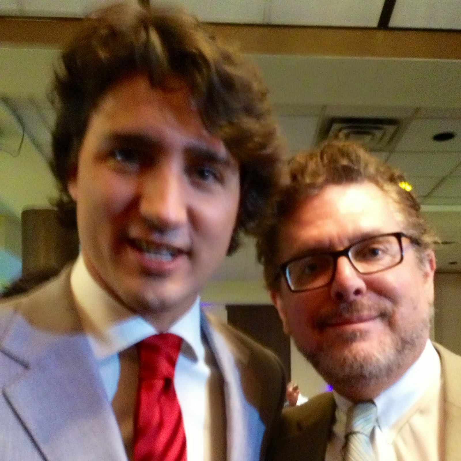 Justin Trudeau and me