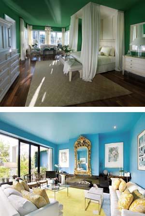 Pareti e soffitto dello stesso colore – Semplice e comfort in una casa di fam...