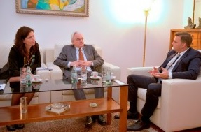 BoA Governor meets German Ambassador: Public institutions should take necessary measures for the Albanian economy to grow