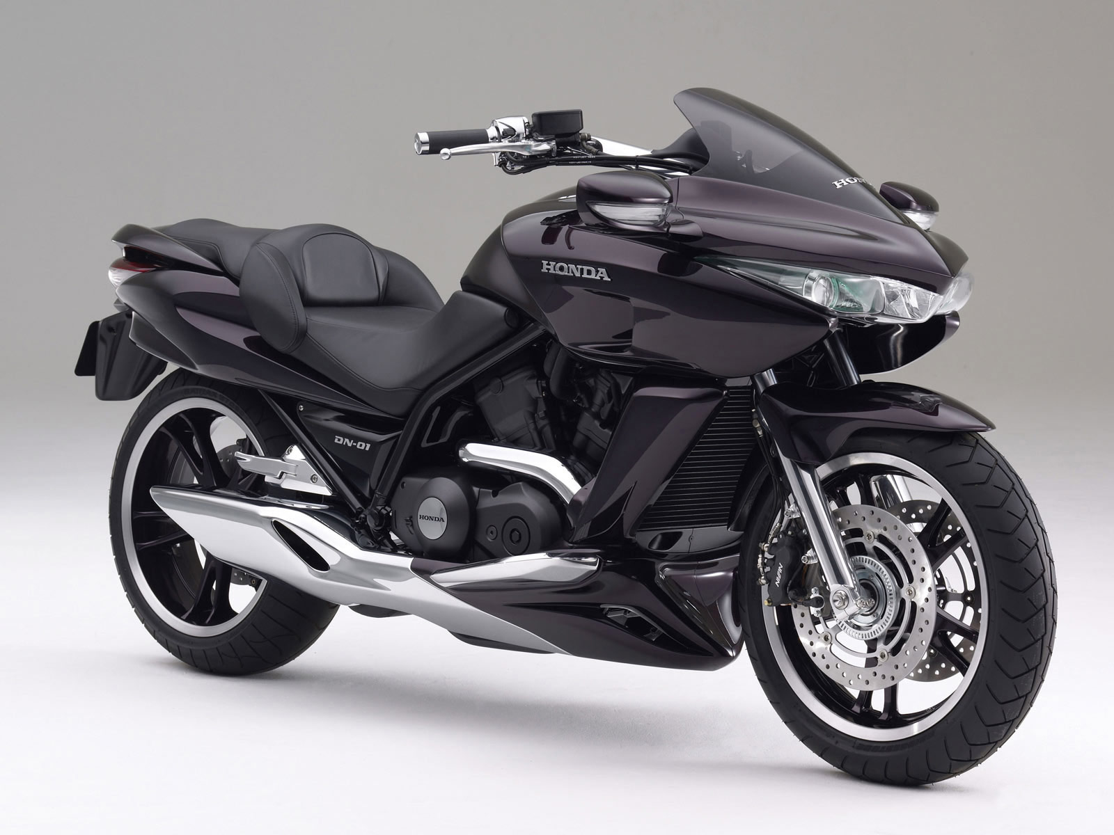 honda v4 concept widescreen bike wallpapers - Honda V4 Concept Widescreen Bike Wallpapers HD