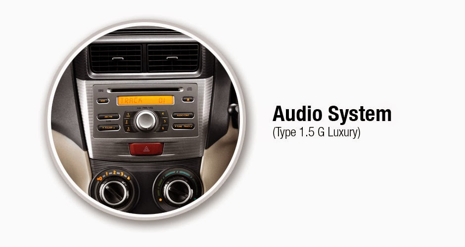 Audio Sistem  avanza luxury 2015