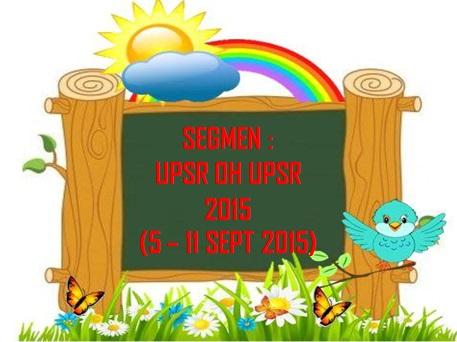 segmen : UPSR oh UPSR 2015