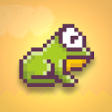 Hoppy Frog Icon Logo