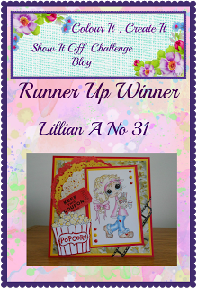 Runner Up Winner - August 2016