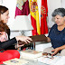 En España, representantes San Cristóbal, Agradecen la construcción de una escuela con fondos de Ciudad Real