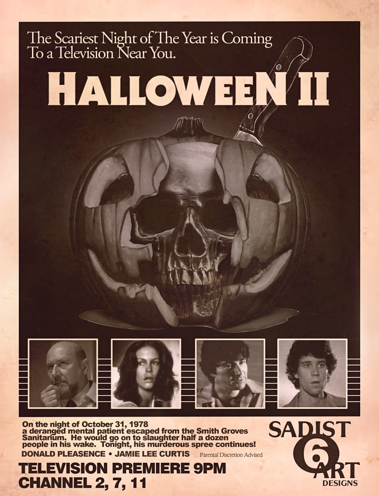 The Horrors of Halloween: HALLOWEEN II (1981) Art and Print by ...